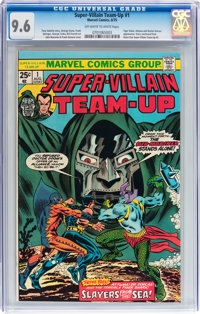 Super-Villain Team-Up #1 (Marvel, 1975) CGC NM+ 9.6 Off-white to white pages