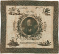 Political:Textile Display (pre-1896), Henry Clay: An Outstanding 1844 Campaign Cloth Bandanna....