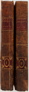 Books:Biography & Memoir, Anecdotes of the Life of the Right Hon. William Pitt, Earl ofChatham, and of the Principal Events of His Time. With His Spe...(Total: 2 Items)