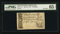 Colonial Notes:South Carolina, South Carolina April 10, 1778 5s PMG Gem Uncirculated 65 EPQ.. ...