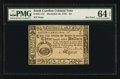 Colonial Notes:South Carolina, South Carolina December 23, 1776 $3 PMG Choice Uncirculated 64EPQ.. ...