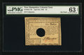 Colonial Notes:New Hampshire, New Hampshire April 29, 1780 $1 PMG Choice Uncirculated 63 Net.. ...