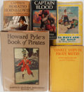 Books:Literature 1900-up, [Howard Pyle, Frank Schoonover, and N. C. Wyeth]. Five Illustrated Books. Various publishers. Publisher's bindings and dust ... (Total: 5 Items)