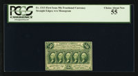 Fr. 1313 50¢ First Issue PCGS Choice About New 55
