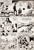 Original Comic Art:Panel Pages, Jack Kirby and George Klein Thor #169 Page 2 Original Art(Marvel, 1969)....