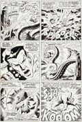 Original Comic Art:Panel Pages, Sal Buscema and Mike Esposito (as Joe Gaudioso) Sub-Mariner #27 Page 11 Original Art (Marvel, 1970)....