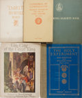 Books:Americana & American History, [Mary Baker Eddy, Violet Oakley, and others]. Five IllustratedHistorical Works. Various publishers. Original bindings. One ...(Total: 5 Items)