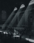 Photographs:Gelatin Silver, IRVING UNDERHILL (American, 1872-1960). Grand Central Station atMid-Day. Vintage 1930s gelatin silver print. 9-3/4 x 7-...