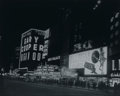 Photographs, ANONYMOUS (20th Century). Untitled (Broadway), 1952. Gelatin silver. 15-1/2 x 19-1/2 inches (39.4 x 49.5 cm). ...