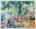 Prints, LEROY NEIMAN (American, 1921-2012). Tavern on the Green, 1991. Color lithograph. 14-5/8 x 18-1/4 inches (37.1 x 46.4 cm)...
