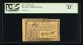 Colonial Notes:New Jersey, New Jersey January 9, 1781 3s 6d PCGS About New 53.. ...