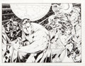Original Comic Art:Covers, Howard Porter and Jimmy Palmiotti Wizard JLA Wrap-Around Cover Original Art (Wizard, c. 1996)....