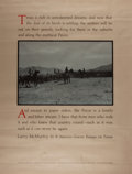 Miscellaneous:Broadside, [Larry McMurtry]. William Wittliff. Broadside Featuring McMurtry'sIn a Narrow Grave. Austin: Encino Press / Tex...