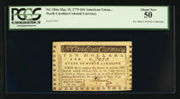 North Carolina May 15, 1779 $10 American Union For Ever PCGS About New 50