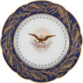 Political:Presidential Relics, Benjamin Harrison: White House China. ...