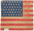 Political:Memorial (1800-present), William McKinley: Funeral Flag from Buffalo....