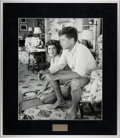 """Photography:Official Photos, Jackie and JFK: """"Adoration of a President to Be"""" Signed andNumbered Silver Gelatin Photo by Hy Peskin...."""
