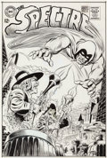 Original Comic Art:Covers, Jerry Grandenetti and Murphy Anderson The Spectre #6 CoverOriginal Art (DC, 1968)....