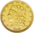 1836 $5 --Cleaned--ANACS. VF30 Details. NGC Census: (33/684). PCGS Population (22/475). Mintage: 553,147. Numismedia Wsl...
