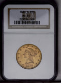 Liberty Eagles: , 1886-S $10 MS61 NGC. NGC Census: (736/906). PCGS Population (405/718). Mintage: 826,000. Numismedia Wsl. Price: $348. (#870...