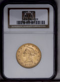Liberty Eagles: , 1897 $10 MS62 NGC. NGC Census: (2226/932). PCGS Population (1351/425). Mintage: 1,000,159. Numismedia Wsl. Price: $485. (#8...