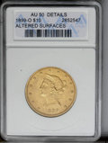 1899-O $10 --Altered Surfaces-- ANACS. AU50 Details. NGC Census: (1/159). PCGS Population (9/161). Mintage: 37,047. Numi...