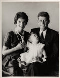 Political:Small Paper (1896-present), John F. Kennedy: Jacques Lowe Photograph of the First Family....