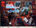 Original Comic Art:Miscellaneous, Kelly Freas The Bar Exam Lithograph Publisher's Proof(Phantomb Publishing, 1995)....