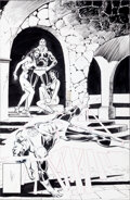 Original Comic Art:Covers, Dick Giordano Green Lantern #124 Cover Original Art (DC,1980).... (Total: 2 Items)