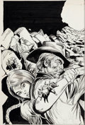 Original Comic Art:Covers, Ross Andru and Dick Giordano Jonah Hex #72 Cover OriginalArt (DC, 1983)....