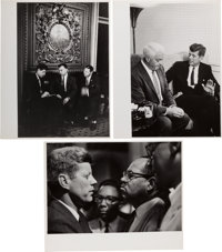 John F. Kennedy: Three Jacques Lowe Photographs