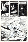 Original Comic Art:Panel Pages, Herb Trimpe and Sal Buscema The Incredible Hulk #136 Page 8Original Art (Marvel, 1971)....
