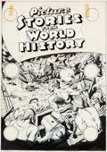 Original Comic Art:Covers, Allen Simon Picture Stories From World History #3Unpublished Cover Original Art (EC, 1947)....