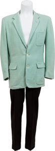 Music Memorabilia:Costumes, Buddy Holly Two-Piece Outfit (c. 1956)....