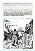 "Original Comic Art:Panel Pages, Robert Crumb Kafka for Beginners Page 110 ""The Castle""Original Art (Totem Books, 1993)...."