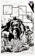 Original Comic Art:Panel Pages, David Finch and Danny Miki Moon Knight #2 Page 2 OriginalArt (Marvel, 2006)....