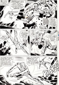 Original Comic Art:Panel Pages, Don Heck and Wally Wood Tales of Suspense #71 Iron Man vs.Titanium Man Page 3 Original Art (Marvel, 1965)....