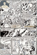 Original Comic Art:Panel Pages, George Perez and John Tartaglione The Avengers #150 Page 6Original Art (Marvel, 1976)....