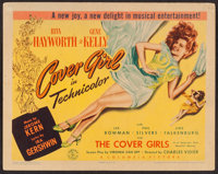 "Cover Girl (Columbia, 1944). Title Lobby Card (11"" X 14""). Musical"