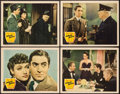 "Movie Posters:Crime, Johnny Apollo (20th Century Fox, 1940). Lobby Cards (4) (11"" X14""). Crime.. ... (Total: 4 Items)"