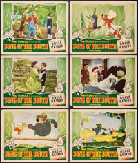 "Song of the South (RKO, 1946). Lobby Cards (6) (11"" X 14""). Animation. ... (Total: 6 Items)"
