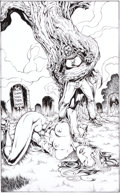 Original Comic Art:Splash Pages, Tim Vigil Killer Tree Original Art (undated)....