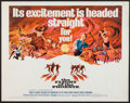 "Movie Posters:Adventure, The Flight of the Phoenix (20th Century Fox, 1966). Half Sheet (22""X 28""). Adventure.. ..."