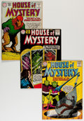 Silver Age (1956-1969):Horror, House of Mystery Group (DC, 1961-62) Condition: Average FN....(Total: 12 Comic Books)