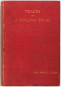 Books:Biography & Memoir, Hon. Henry J. Coke. Tracks of a Rolling Stone. London: Smith, Elder & Co., 1905. First edition. Portrait frontis...