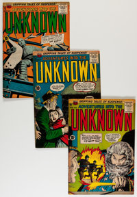 Adventures Into The Unknown Group (ACG, 1955-64) Condition: Average VG.... (Total: 25 Comic Books)