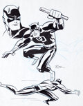 Original Comic Art:Illustrations, Bruce Timm Daredevil The Man Without Fear Illustration Original Art (undated)....