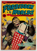 Golden Age (1938-1955):Horror, Forbidden Worlds #6 (ACG, 1952) Condition: FN/VF....