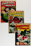 Golden Age (1938-1955):Horror, Forbidden Worlds Group (ACG, 1953-54) Condition: Average FN....(Total: 10 Comic Books)