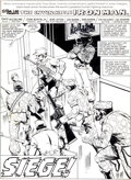 Original Comic Art:Splash Pages, John Romita Jr. and Bob Layton Iron Man #148 Splash Page 1Original Art (Marvel, 1980)....